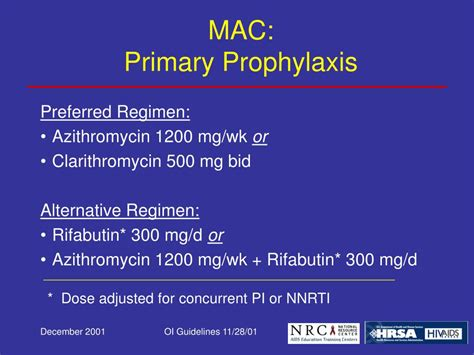 Ppt 2001 Usphsidsa Guidelines For The Prevention Of