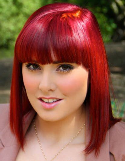 ideas  red ombre hair