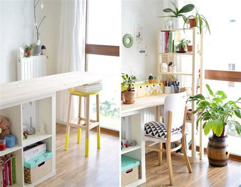 construire un bureau en bois fabriquer bureau en palette fashion designs
