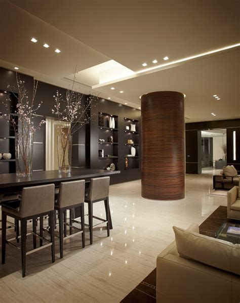 Houzz Living Room Ceiling Designs by Contemporary Living Room