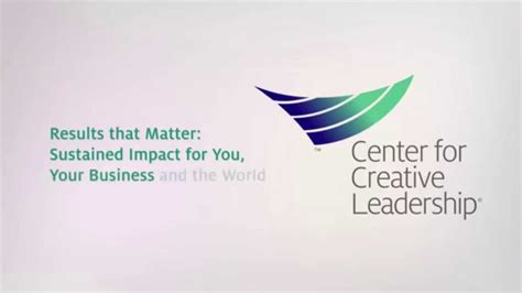 center  creative leadership results  matter