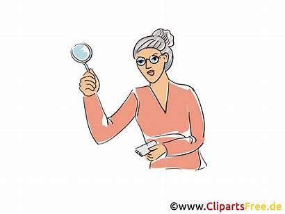 Clipart Librarian Bibliothekar Illustrasjon Og Ja Utklipp