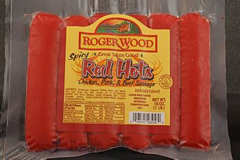 red hots  lb roger wood foods