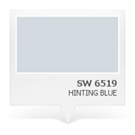 sw 6519 hinting blue walls pinterest