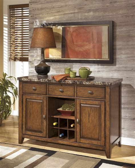 dining room server cabinet d328 60 signature by ashley lacey dining room server