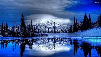 Winter Desktop Mountain Backgrounds Wallpapers 1080 Nature