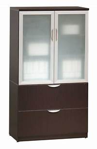 glass door cabinet Wood Storage Cabinets with Glass Doors - Home Furniture Design