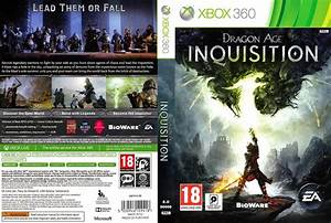 Capa Dragon Age Inquisition Xbox 360 - Gamecover | Capas ...