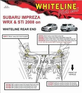 Whiteline Rear Sway Bar 22mm Adjustable