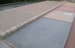 beton colore iribarren With ciment colore pour terrasse