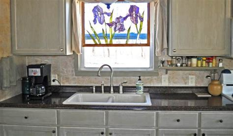 mobile home kitchen sinks budget friendly mobile home kitchen makeover 7556