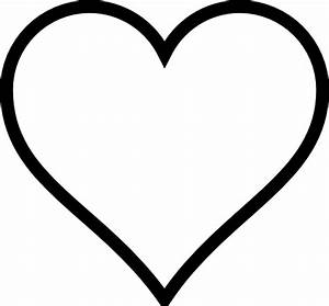 """Search Results for """"Heart Template Clipart Black And White ..."""