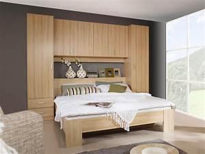 Tete de lit avec rangement meubles francais for Chambre a coucher adulte avec housse de couette enfant conforama