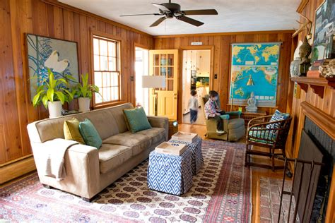diy wall paneling ideas living room eclectic  yellow