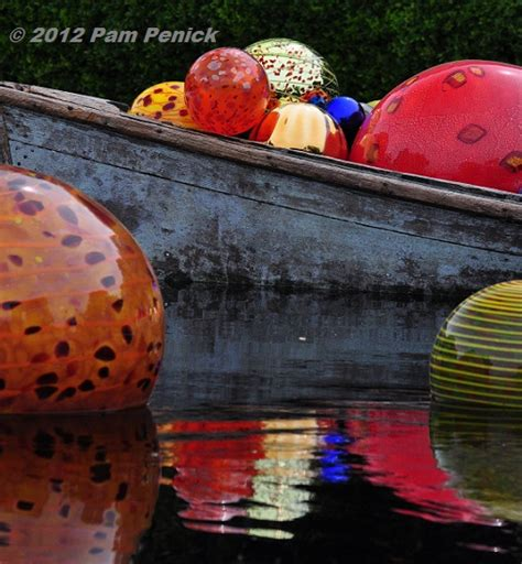 Float By Boat Four In A Bed by Chihuly Glass Exhibit At The Dallas Arboretum Digging