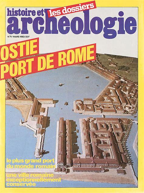 ostie ville romaine et port de rome dossiers d