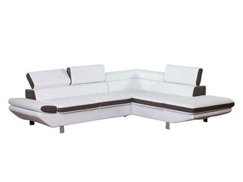 canapé loft conforama canape blanc conforama maison design wiblia com