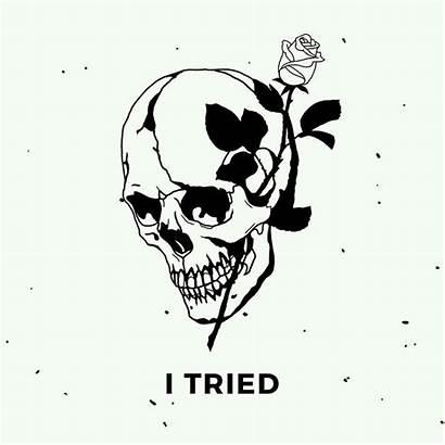 Drawings Did Enough Tattoos Sad Skeleton Drawing