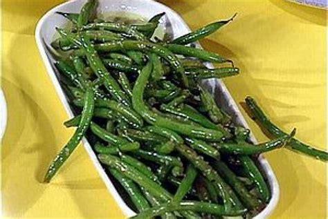 sesame green beans recipe rachael ray food network