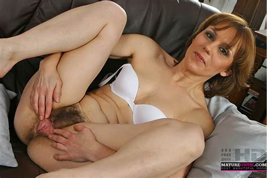 #This #Milf #With #Hairy #Pussy #And #Small #Boobs #Is #Laying #On
