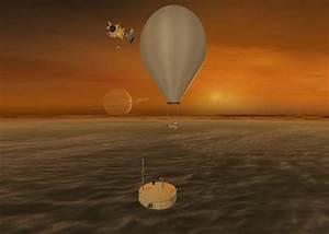Titan orbiter, ESA Montgolfiere balloon, ESA lake lander