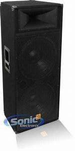 Dual 15 Dj Speakers