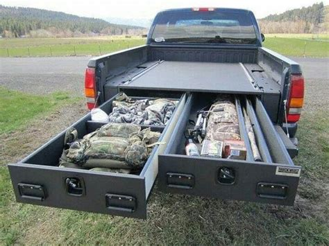 truck bed storage drawers how to install a sliding truck bed drawer system diy