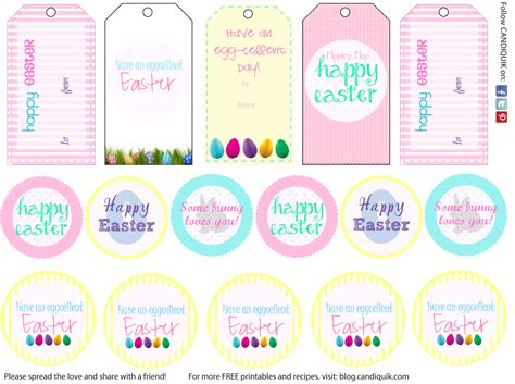 Easter Name Tags Template by 5 Best Images Of Printable Easter Tags Free Printable