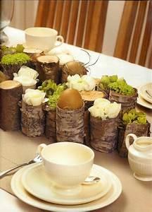 Tischdeko Geburtstag Basteln : eierst nder rustikal tischdeko zu ostern landhausstil osterdeko pinterest ~ Eleganceandgraceweddings.com Haus und Dekorationen