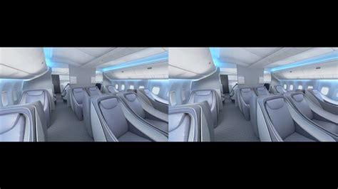 Boing 777 Interior by Boeing 777 Interior In 3d