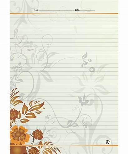 Sheets Designer A4 Cm Line Single Designs