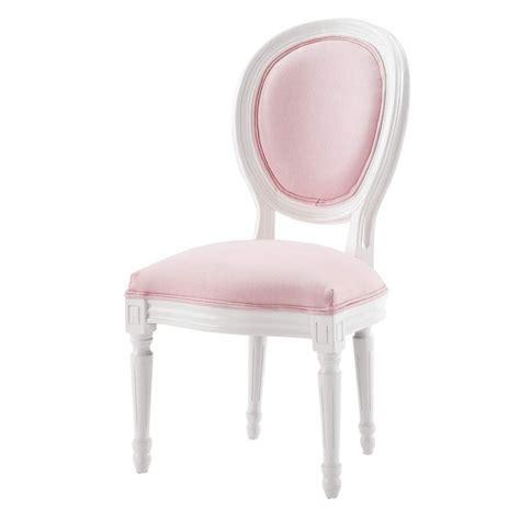chaise louis maison du monde chaise médaillon enfant en bois blanche et louis maisons du monde