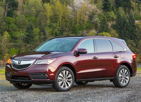 Best Compact Suvs 2016 Acura Mdx  Best Midsize Suv