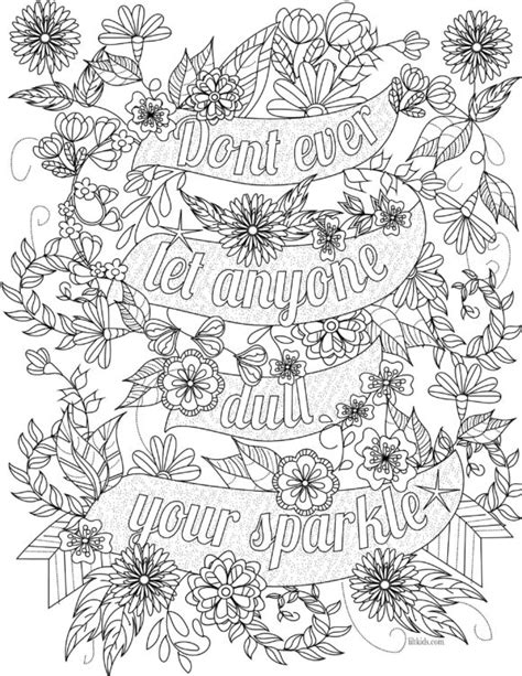 inspirational coloring pages for adults coloring pages inspirational coloring pages for