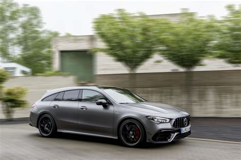 Inside is where the cla 45 amg really struts its stuff. 2020 Mercedes-AMG CLA 45 Shooting Brake Now Official - GTspirit