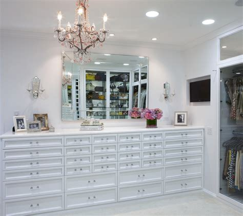 the antiqued mirror boutique contemporary closet los