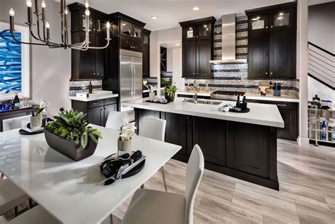 After all, granite is a natural stone with many different varieties, styles and textures to meet nearly every aesthetic need. dark-cabinet-kitchen-with-white-super-thassos-glass ...