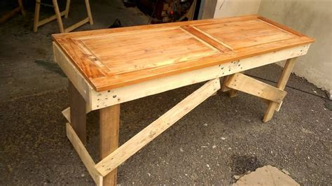 table cuisine palette banc en palette table en palette table de jardin