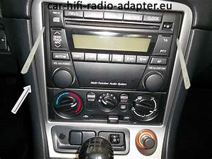 Service Manual  Removing Radio From A 2003 Mazda Mx 5