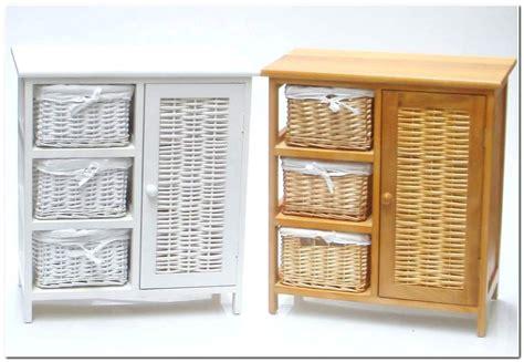 Bathroom Small White Shelf Black Storage Baskets Wall