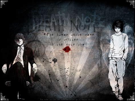 L Wallpapers Death Note  Wallpaper Cave