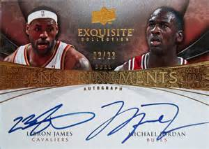 Upper Deck Basketball Card Values by Upper Deck Exquisite Basketball Cards Nba Signed