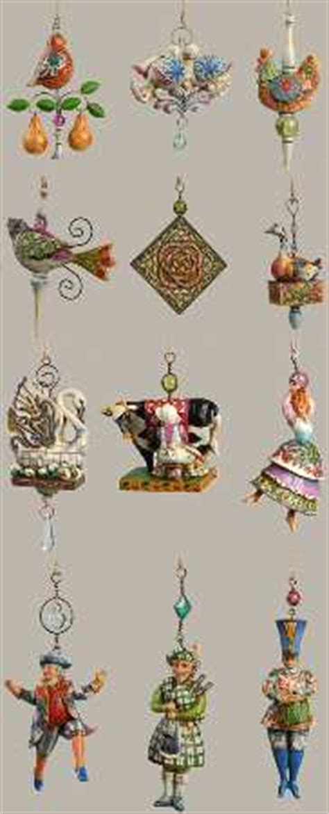12 days of christmas decorations jim shore twelve days of at replacements ltd