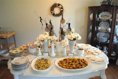 MidSouth Stagers: Vintage Bridal Shower With A Southern Touch