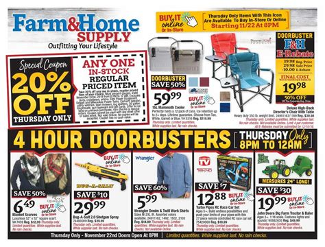 Tractor Supply Black Friday 2018 Ads And Deals Surface Mount Led Lights Light Up Words Solar For Decks Emergency Volunteer Firefighters Wall Glock 23 Kitchen Lighting Design Stainless Steel Fixtures