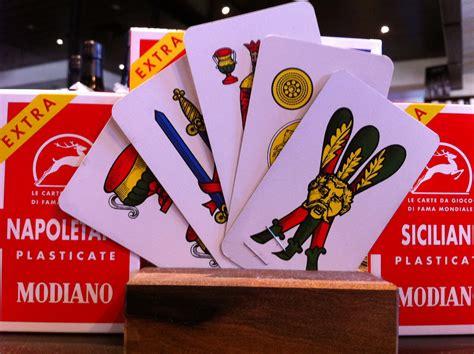 Briscola  The Card Game Of Champions!  La Donna Del Vino