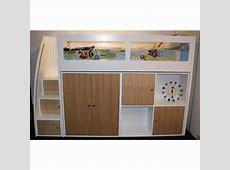 Buy Kids space saver loft bed frame 1500h Online in