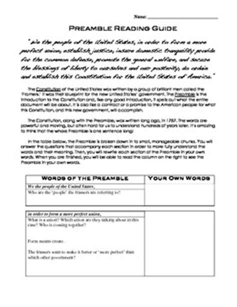 Us Constitution Preamble  By Kristen Dembroski Nbct  Teachers Pay Teachers