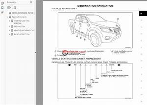 Nissan Navara D23 2015 Factory Service Manual