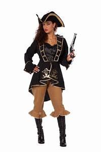 Damen Kostüm Piratin : piratenkost m damen kost m piratin kost m piraten schwarz gold piratenbraut kk kaufen bei kl ~ Frokenaadalensverden.com Haus und Dekorationen